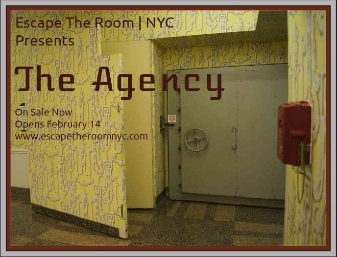 Escape Game Agency, Escape The Room | NYC. New York.