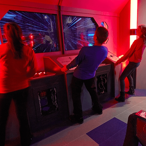 Escape Game Deep Space, 5 Wits. New York.