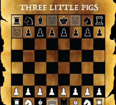 Escape of the Three Little Pigs