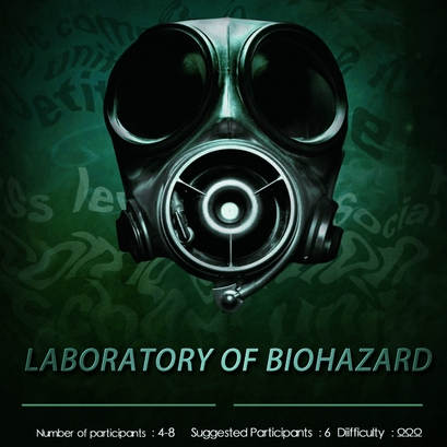 Escape Game Laboratory of Biohazard, OMEscape. New York.