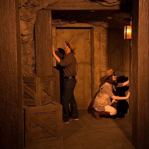 Escape Game Tomb, 5 Wits. New York.