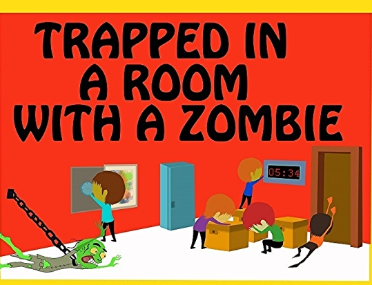 Escape Game Trapped In A Room With A Zombie, Room Escape Adventures. New York.